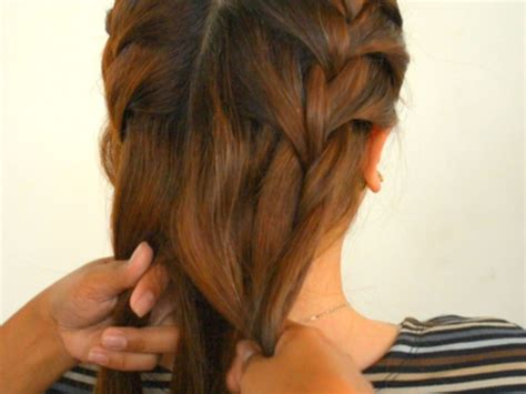 how to do two french braids with weave how to do double french braids with pictures wikihow