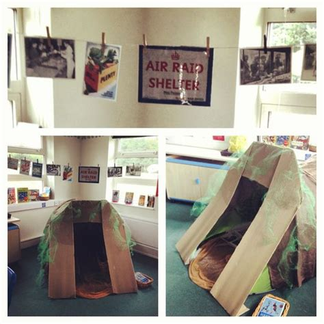 assignment 2 display ideas and layout areas of photo world war 2 anderson air raid shelter role play area