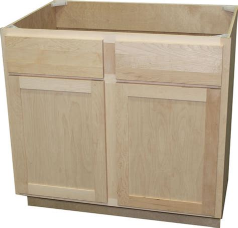 36 sink base cabinet unfinished quality one 36 quot x 34 1 2 quot unfinished maple sink base