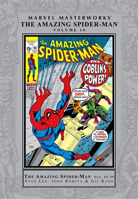 marvel masterworks the amazing spider volume 1 new printing trade reading order 187 marvel masterworks the amazing