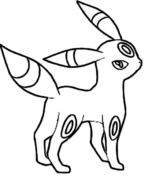 coloring pages of pokemon online umbreon pokemon coloring pages umbreon pokemon coloring