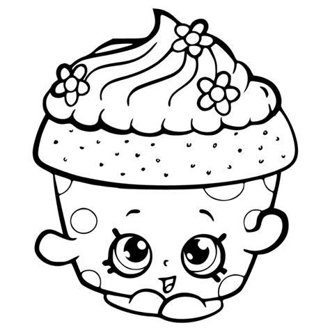 mini cupcake coloring page desenhos desenho infantil para colorir de cupcake