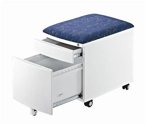file cabinet on wheels with seat deal finder cabinet cushion drawer