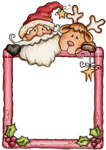 Father Christmas Letter Templates Free Navidad Imagenes Marcos O Bordes