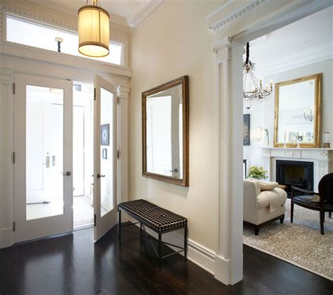 Townhouse Entryway Ideas | waverly place townhouse traditional entry new york