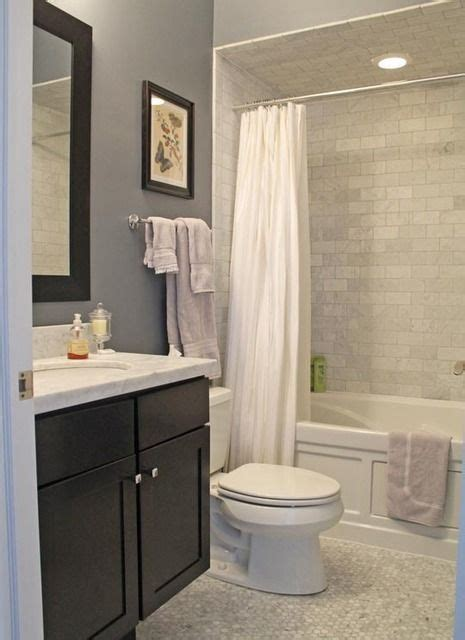 bathroom alcove ideas tile espresso vanity alcove tub neutrals marble