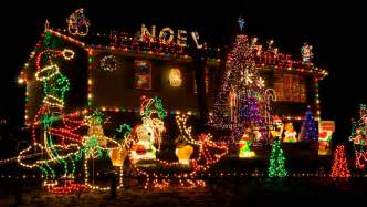 top 10 biggest outdoor christmas lights house decorations decorated houses for christmas santa claus and christmas