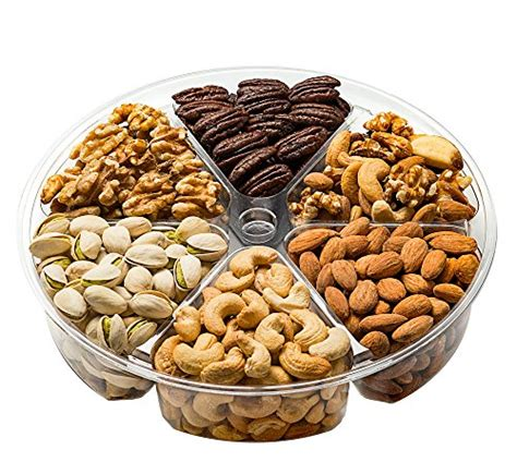 holiday gourmet food nuts gift basket 7 different nuts five star gift baskets gourmet nuts gift basket 6 different delicious freshly roasted nuts vegetarian friendly