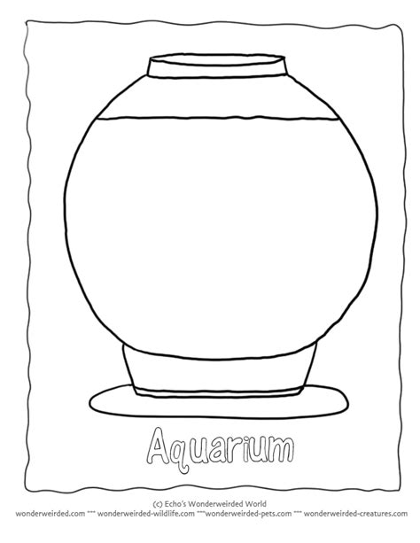 Blank Go Fish Card Template by Outline Aquarium Coloring Pages Template 1 Fish Bowl Here