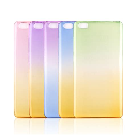 Silicon Tpu Pinggiran Chrome Xiaomi Mi4 Mi3 Redmi 1s gradient soft tpu gel for xiaomi m3 m4 m4s m5 max redmi 2 3 note colorful ultra thin