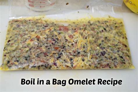 Kitchen Hacks Omelette In A Bag Kitchen Hack Boil In A Bag Omelet Recipe