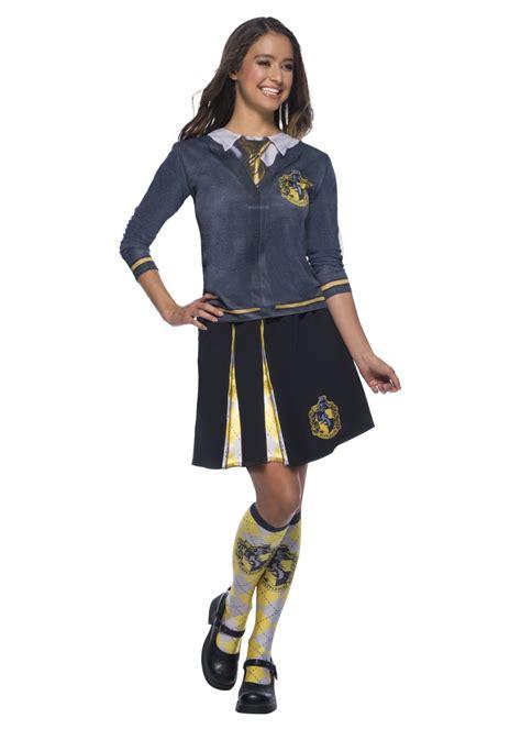 hufflepuff harry potter womens costume skirt cosplay
