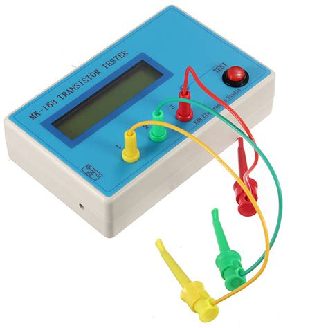 npn transistor tester mk 168 transistor tester diode triode esr rlc lcr meter