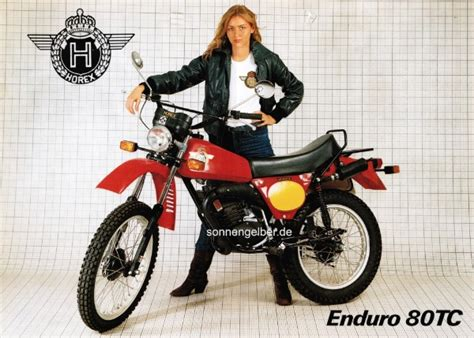 Yamaha Motorräder 70er by Enduro 80 Tc