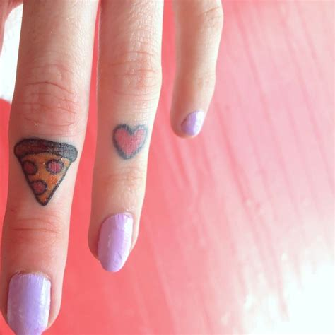 unique finger tattoos 159 best food tattoos images on food tattoos