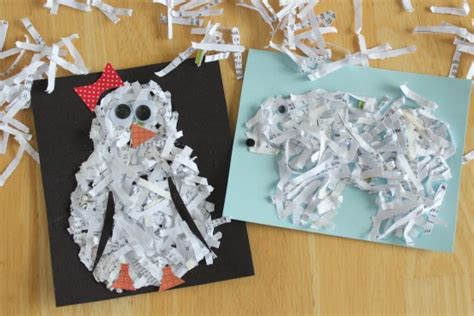 Crafts With Shredded Paper - organising the office creative uses for shredded paper