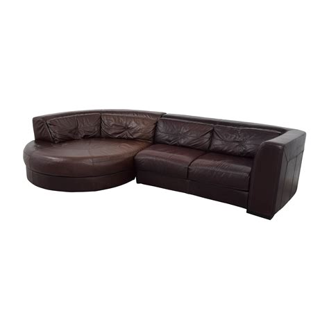 chateau d ax sectional 70 off chateau d ax chateau d ax leather sectional with