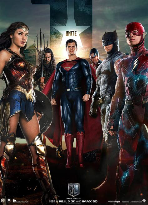film justice league tayang justice league movie poster 4 by saintaldebaran on deviantart
