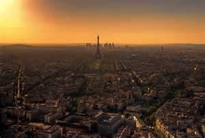 Filed under cities tagged with paris paris skyline paris sunset