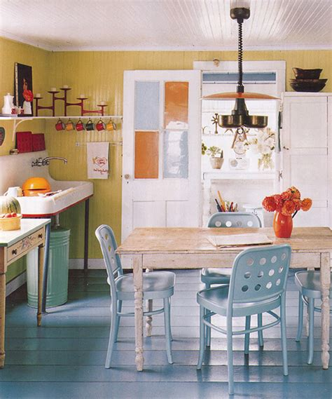 Painted Kitchen Floors We Might Paint The Kitchen Floor It Lovely