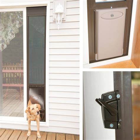 Petsafe Deluxe Patio Panel Pet Door Striking Door Sliding Glass Door Doors Petsafe Deluxe Patio Panels Inside Door For