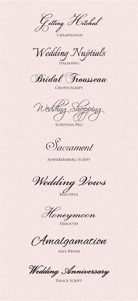 Wedding Font Clipart by Wedding Font Clipart 56