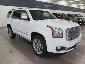 gmc yukon white 2017 2017 gmc yukon denali for sale mankato mn 6 2l 8