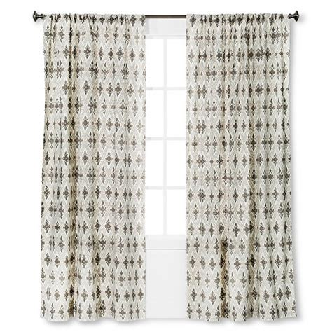 ikat curtain panel diamond ikat curtain panel threshold target