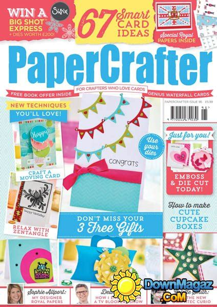 Papercrafter Magazine - papercrafter issue 95 2016 187 pdf magazines