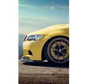 480x800 Yellow BMW M3 Bonnet Lumia 900 Wallpaper