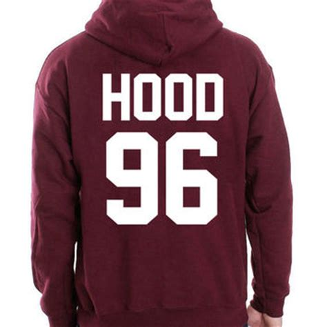 Levi S Lightweight Summer Hoodie Grey Maroon calum shirt 96 tshirt 5 seconds from yomawear on etsy