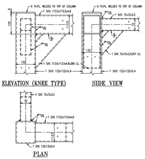 Structural Steel Hollow Sections by Typical Joint Detailing Of Steel Hollow Sections
