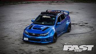 Are Subaru Wrx Fast Widebody Subaru Impreza Wrx Sti Fast Car