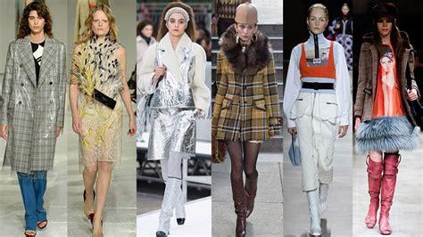 mujeres moda tendencias 2017 2018 oto 241 o invierno 2016 17 moda archivos study of style