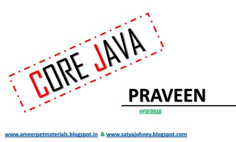 oracle tutorial by satish yellanki ameerpet institute materials java notes spring
