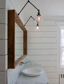 swing arm bathroom mirror ship handsome wood mirror and swing arm ls