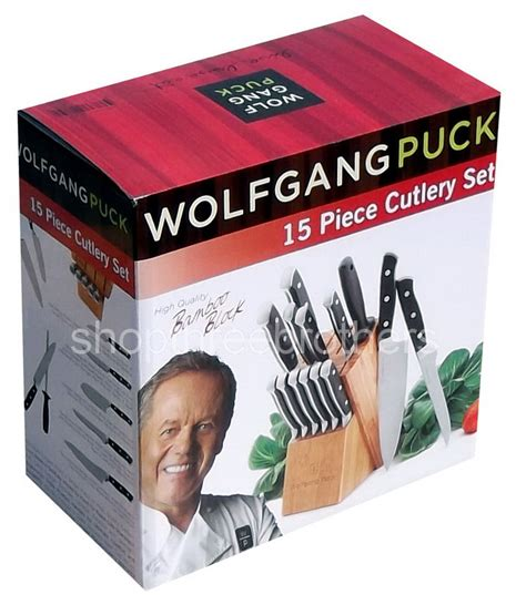 wolfgang puck kitchen knives kitchen knives wolfgang puck 15 steel cutlery
