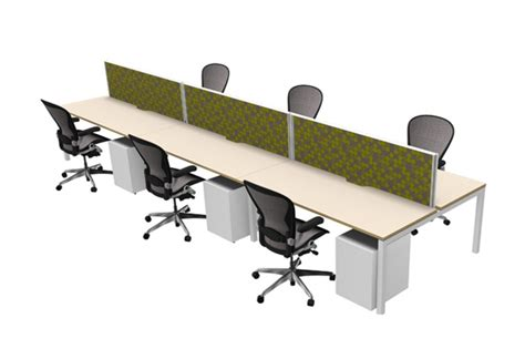 Reece Plumbing Office by Plaza Desk System Modular Desking Suppliers
