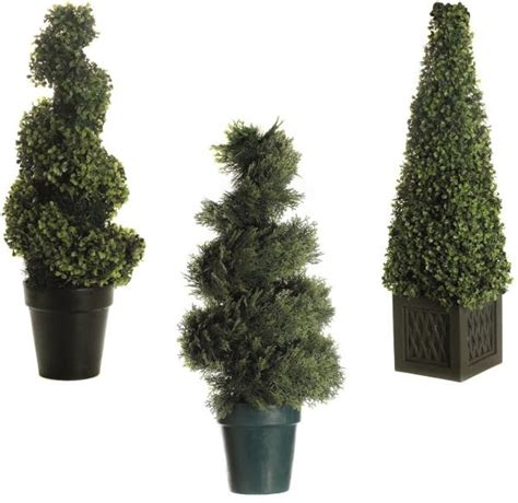 ornamental topiary trees artificial decorative light up led topiary tree bush
