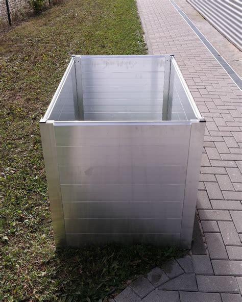 überdachung Aus Alu by Alu Hochbeet Bausatz Versch Abmessungen Wartungsfrei