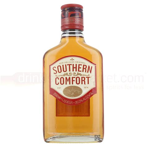 southern comfort peach liqueur southern comfort whiskey liqueur 20cl buy cheap price