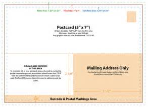 Mailing Postcard Template by Postcard Template Design Slim Image