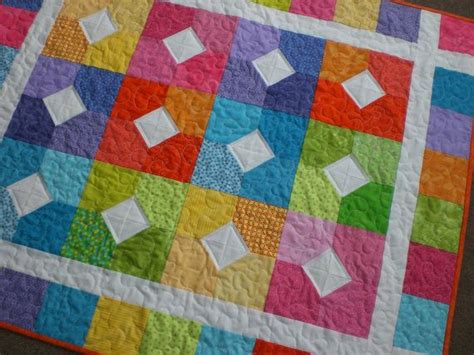 Bright Colored Quilts by Baby Quilt In Bright Colors