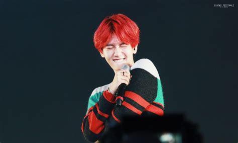 Anti Kekinian anti jelek kumpulan foto baekhyun exo dengan warna rambut