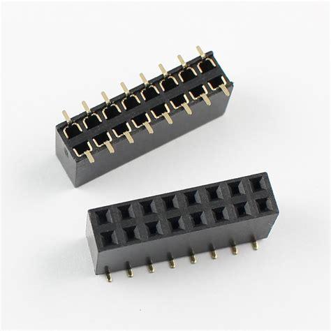 2x8 Pin Header 100pcs 2 54mm pitch 2x8 pin 16 pin smt row pin header ebay