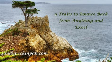 9 Ways To Bounce Back From A Up by 9 Traits To Bounce Back From Anything And Excel
