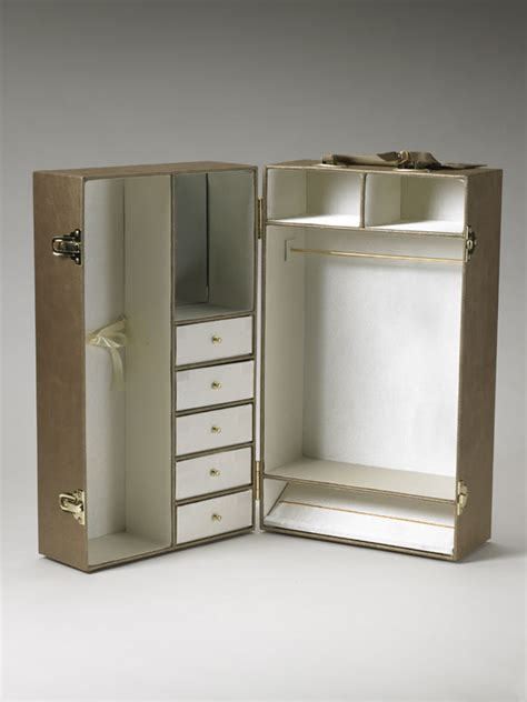 Doll Wardrobe Trunk by Dreamcastle Dolls