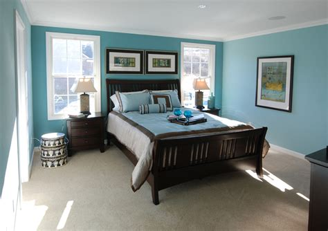 blue wall bedroom master bedroom decorating ideas blue walls home delightful