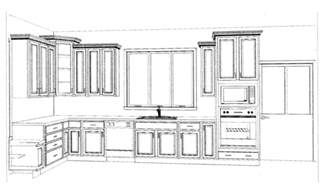 Designing Kitchen Cabinets Layout kitchen cabinets layouts kitchen layout 20142 jpg