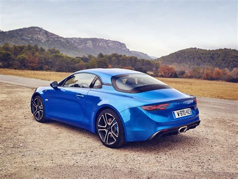 renault alpine a110 alpine details the a110 premiere edition in new images and